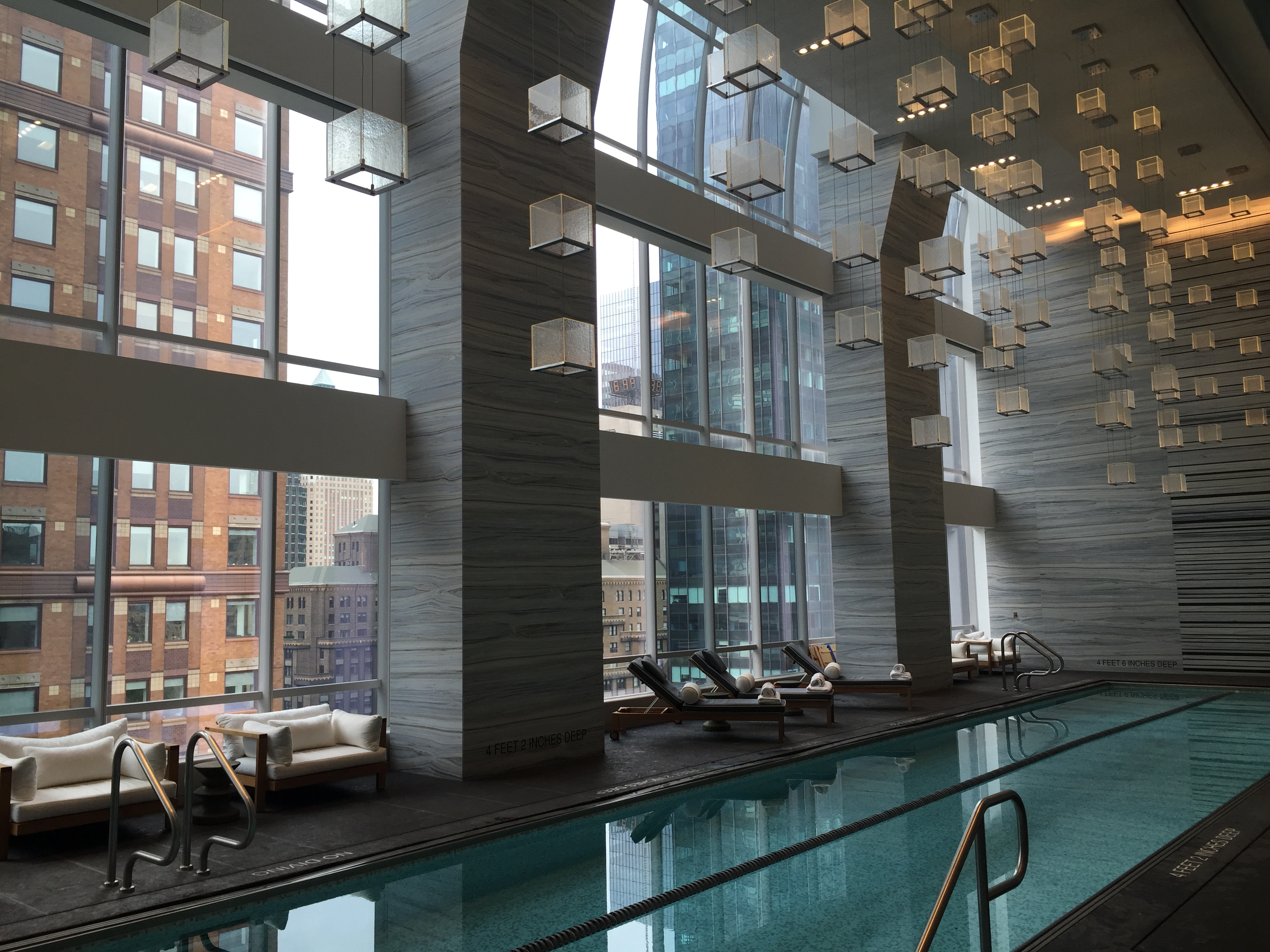 Park Hyatt New York Pool Gym