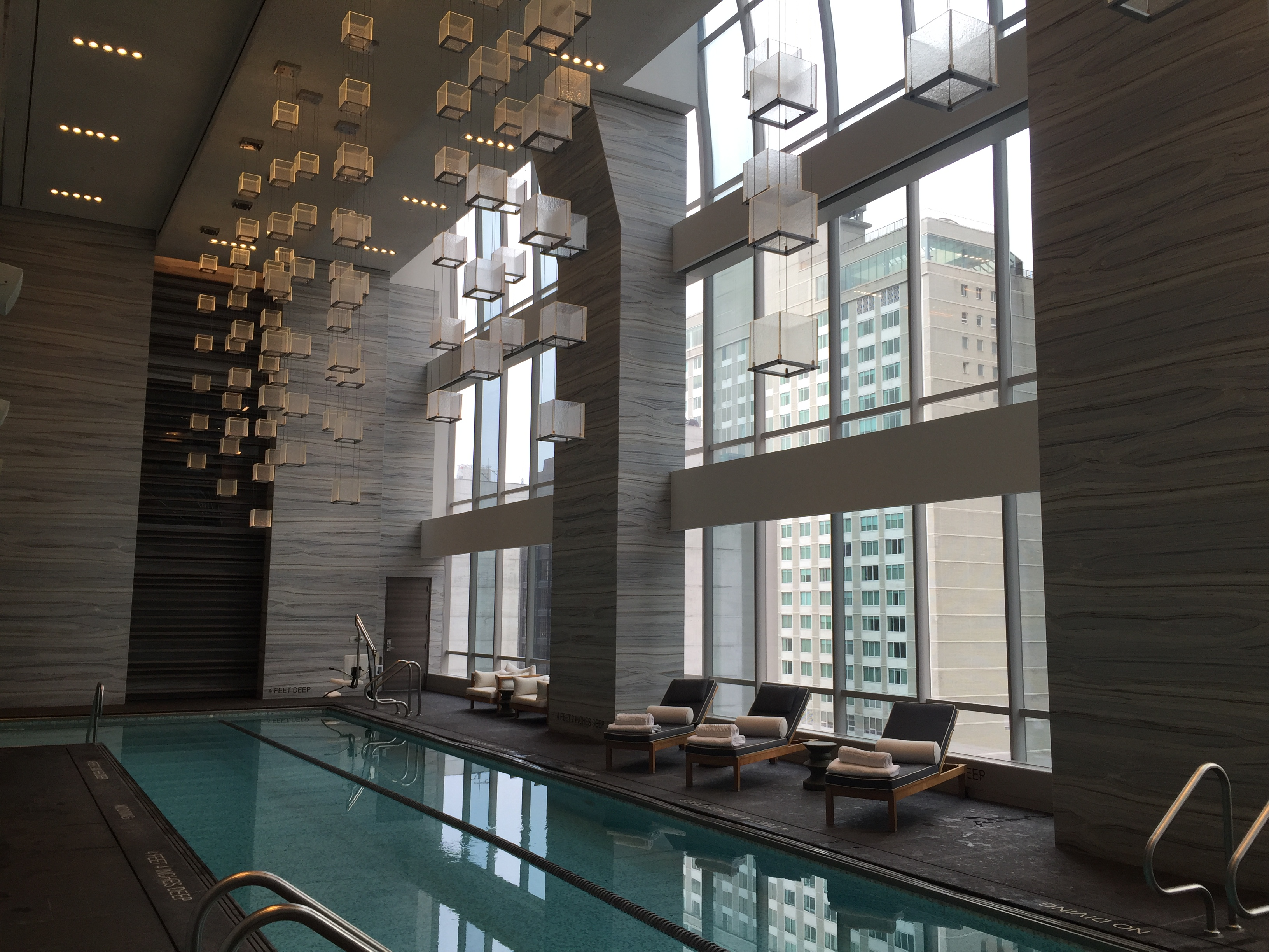 Park Hyatt New York Pool Spa