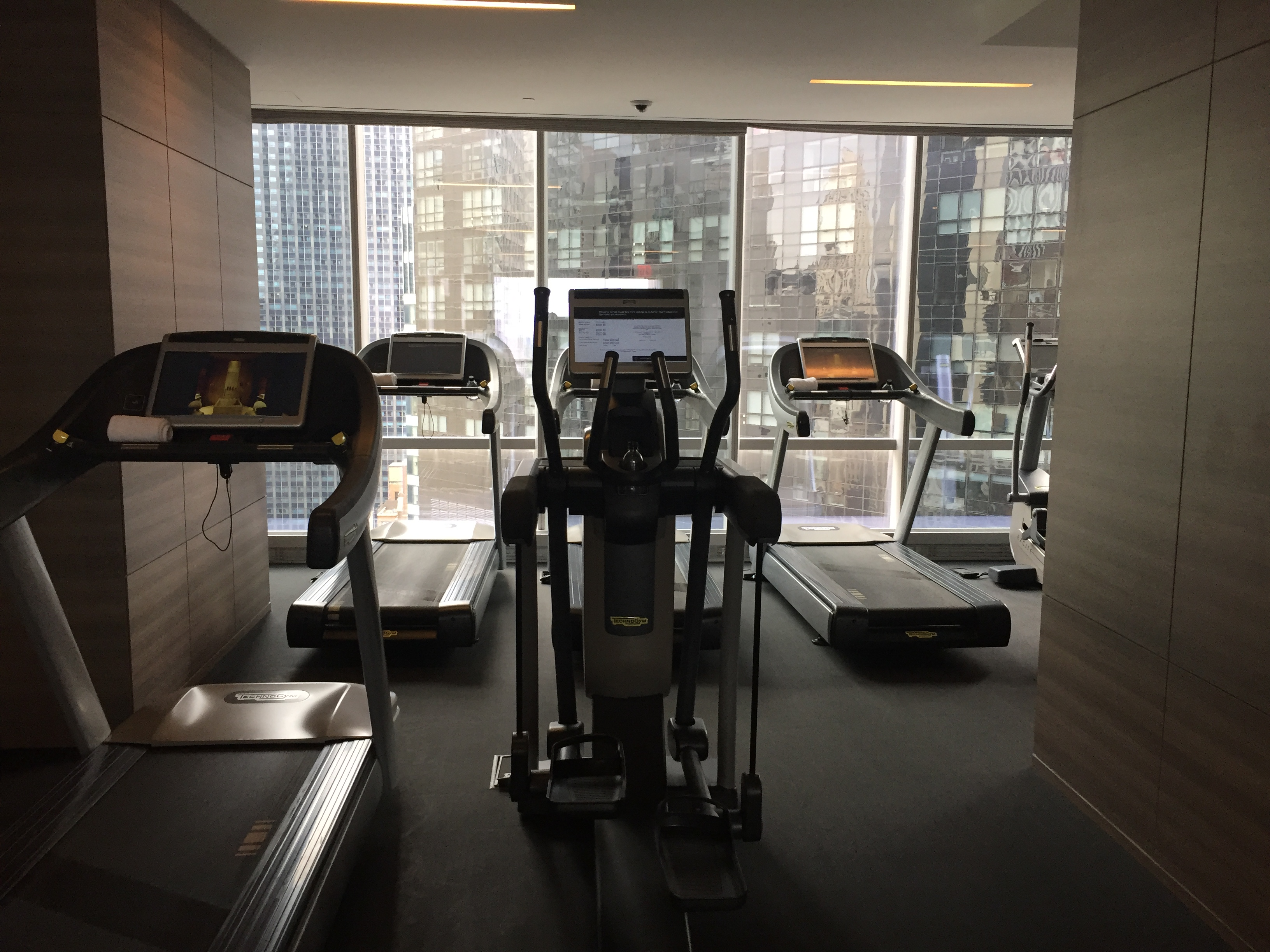 Park Hyatt New York Treadmills