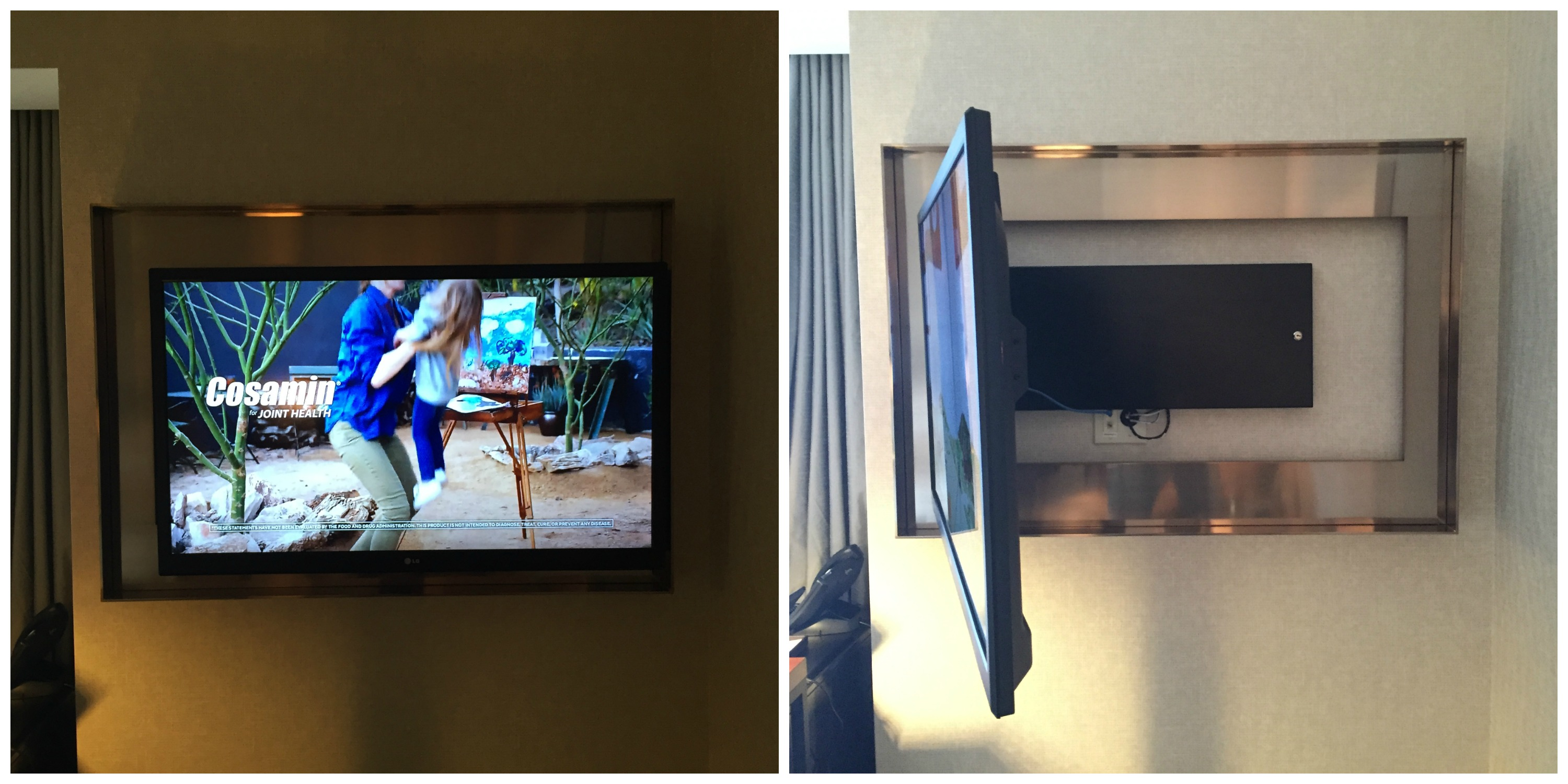Park Hyatt TV Swivel
