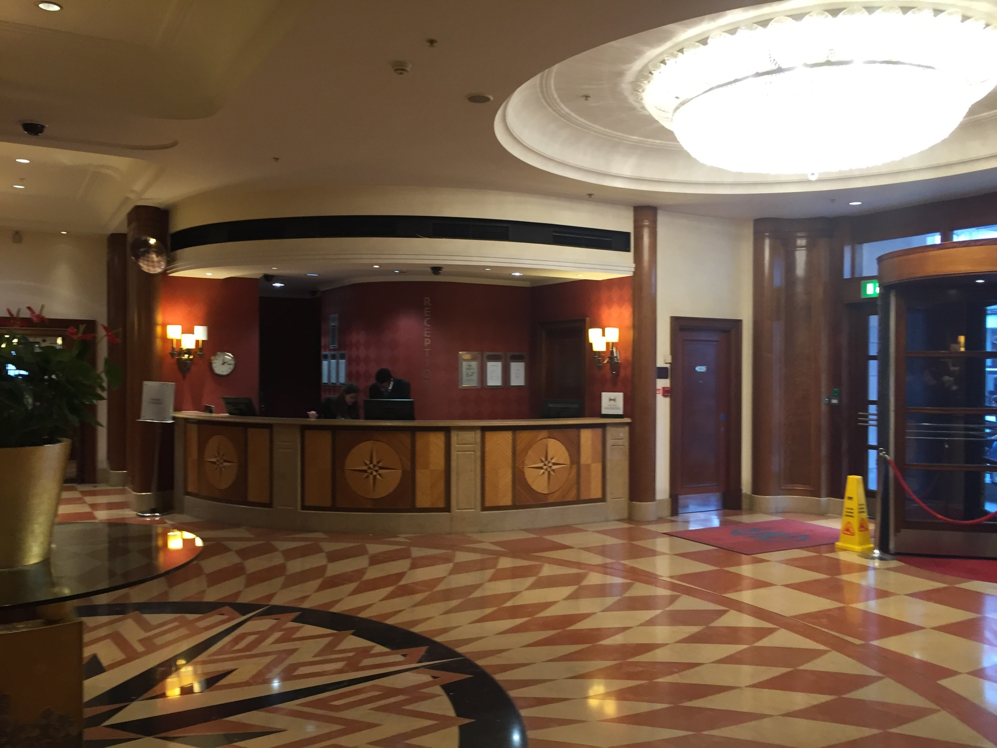 Hilton London Paddington Front Desk