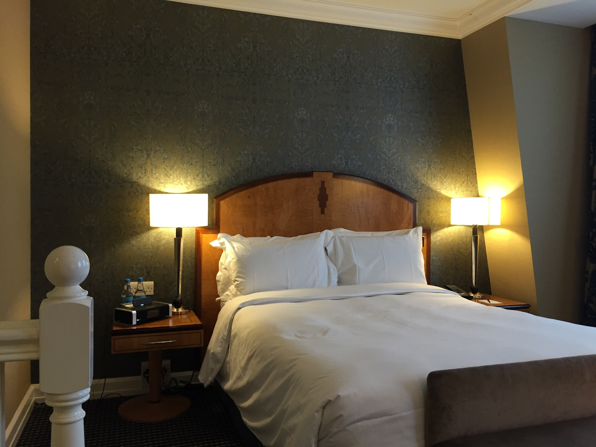 Hilton London Paddington Bed