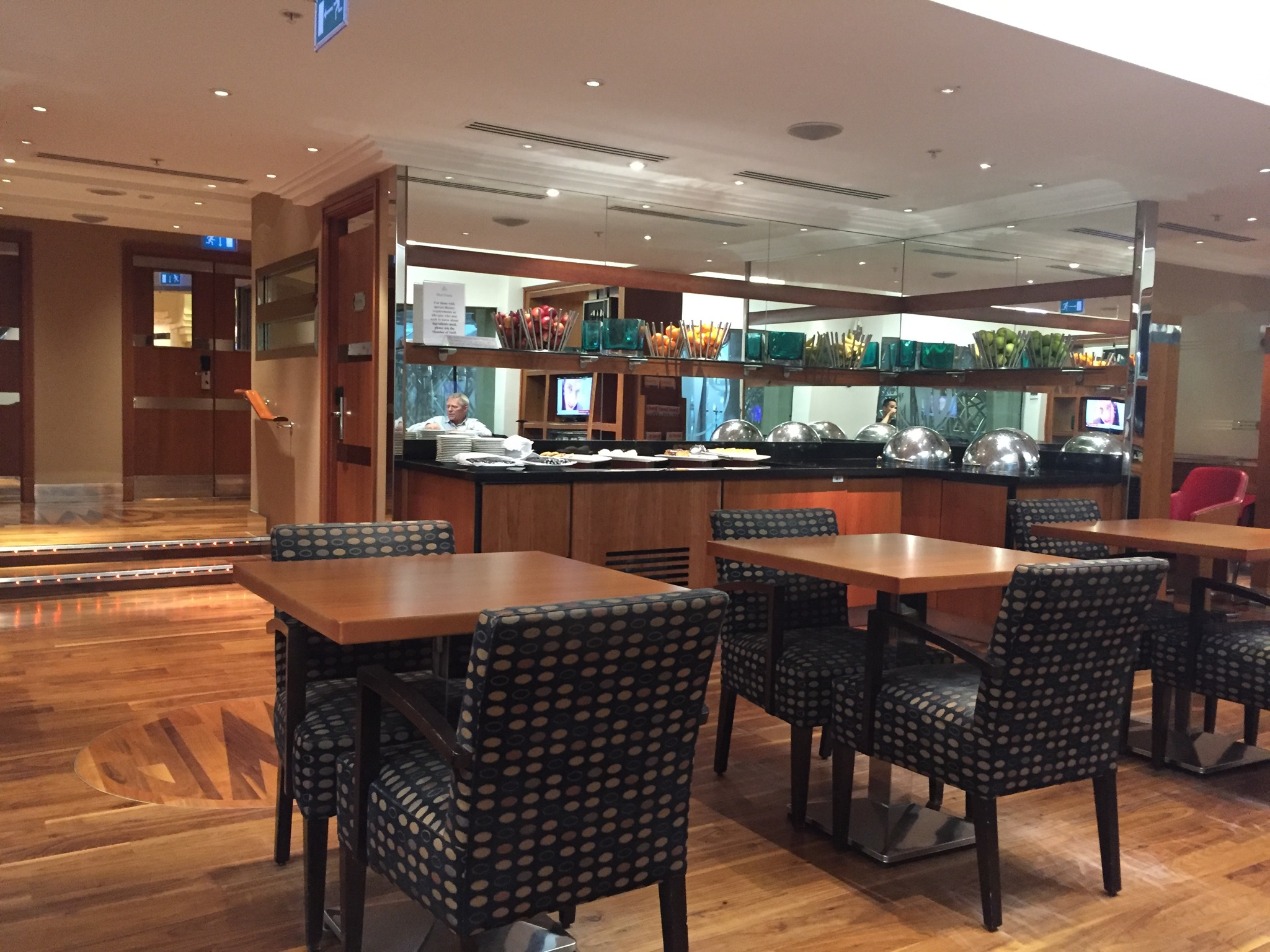 Hilton London Paddington Executive Lounge