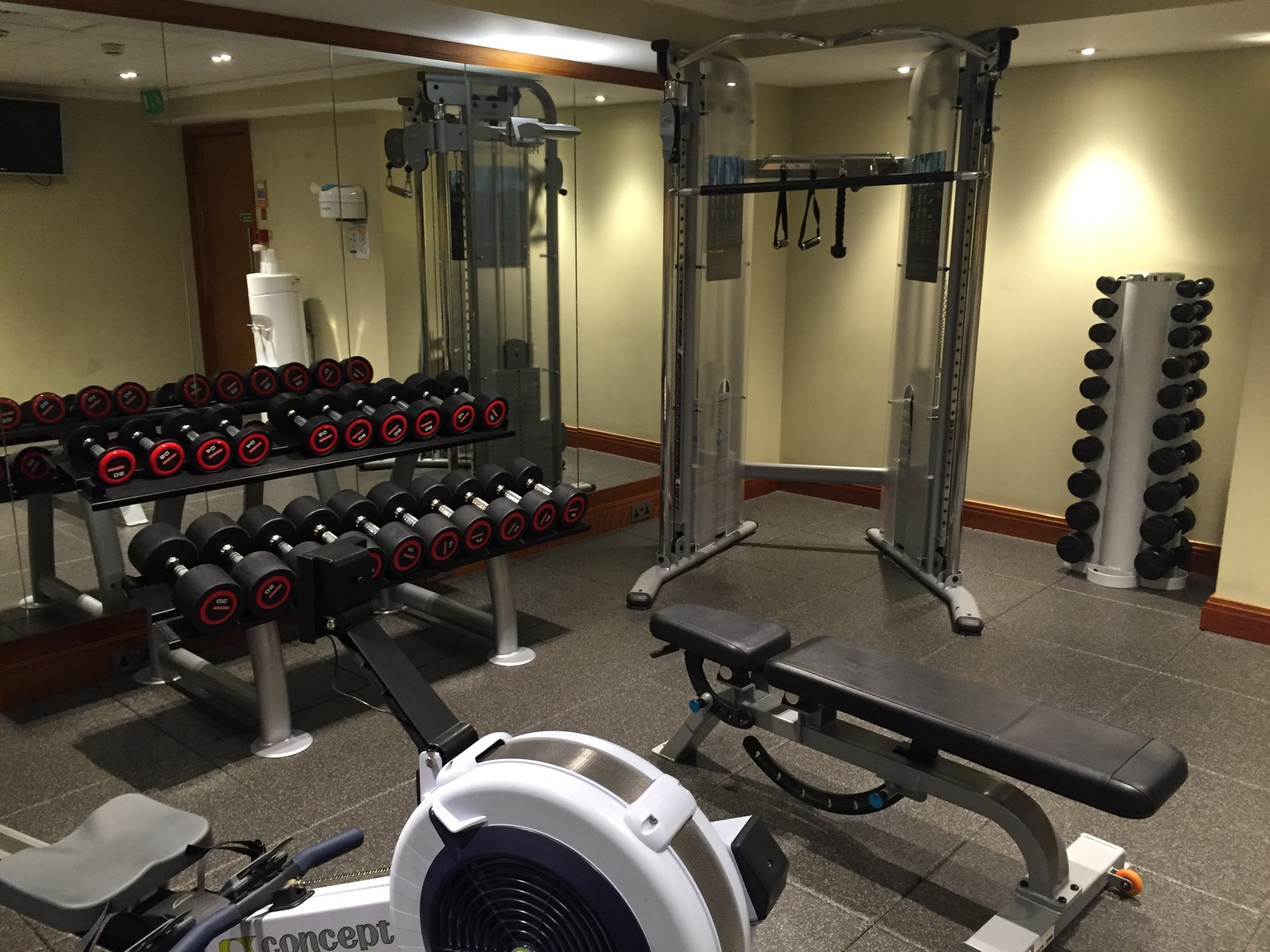 Hilton London Paddington Gym