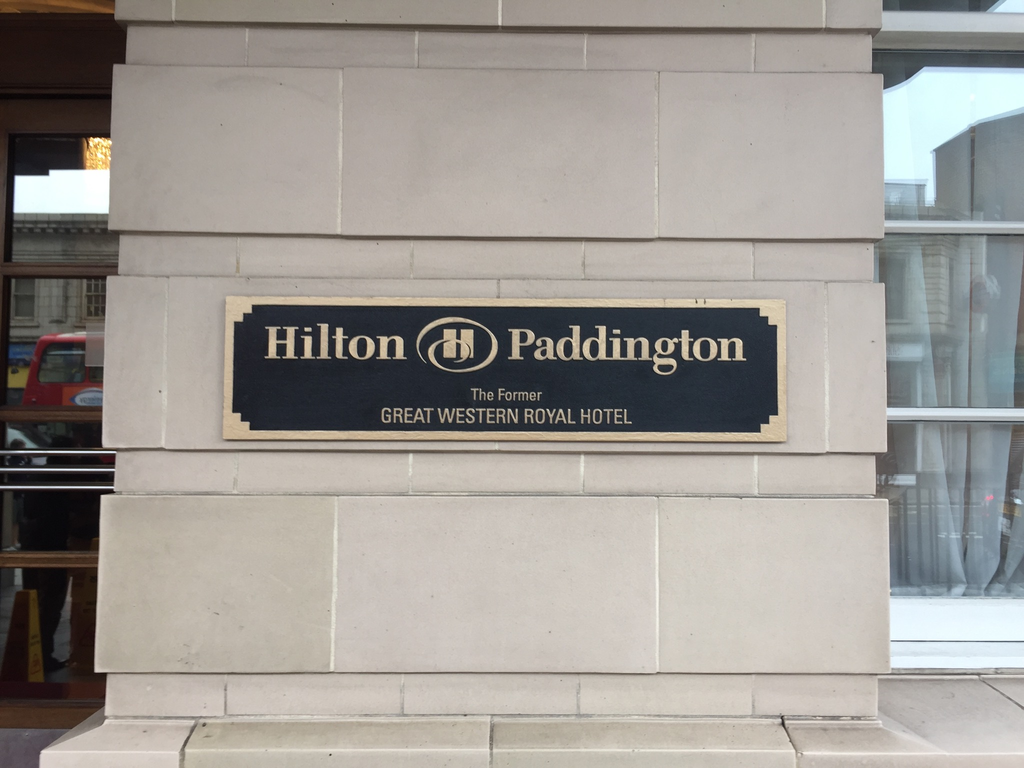 Hilton Paddington Entrance