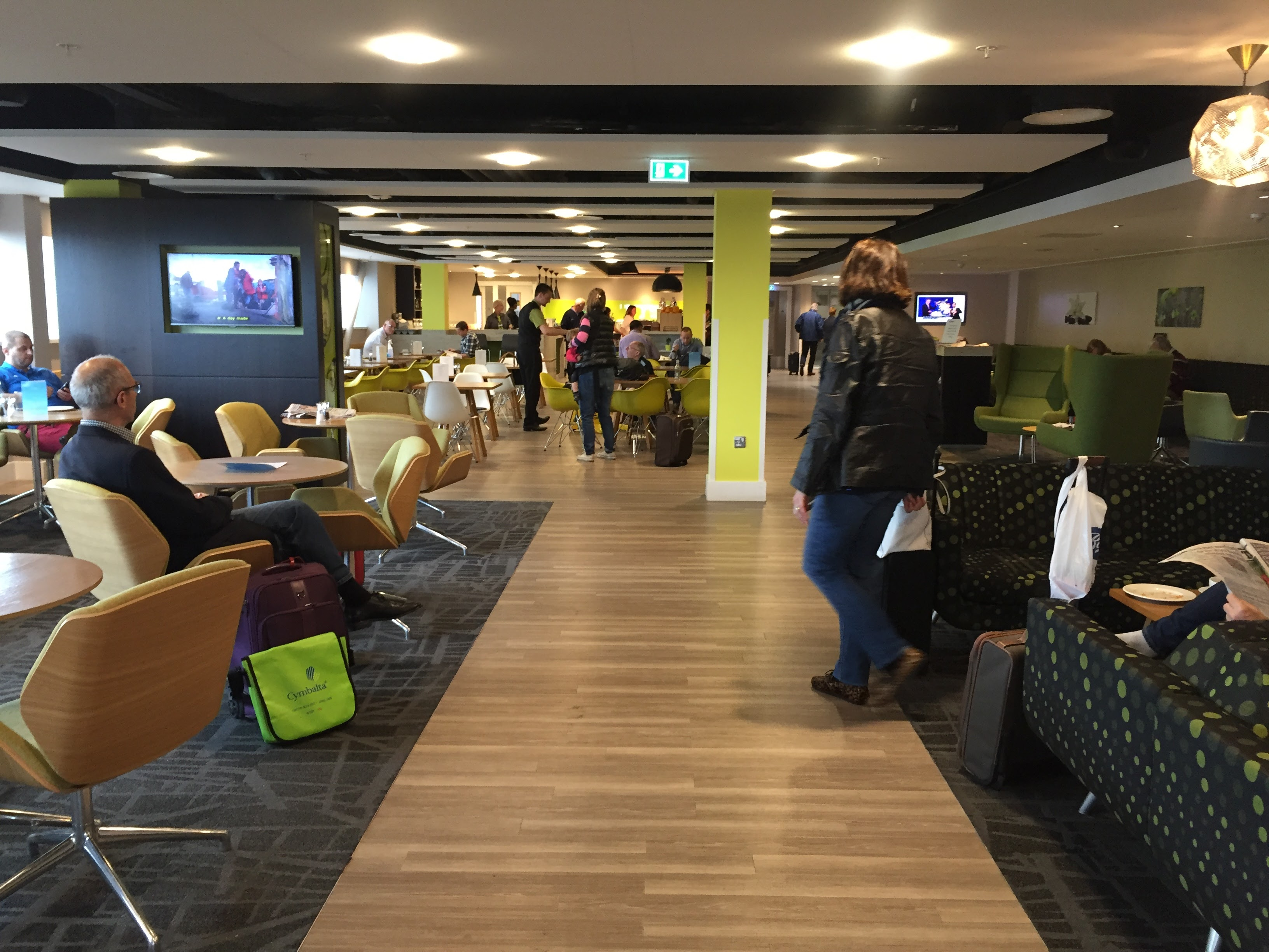 Escape Lounge Stansted New