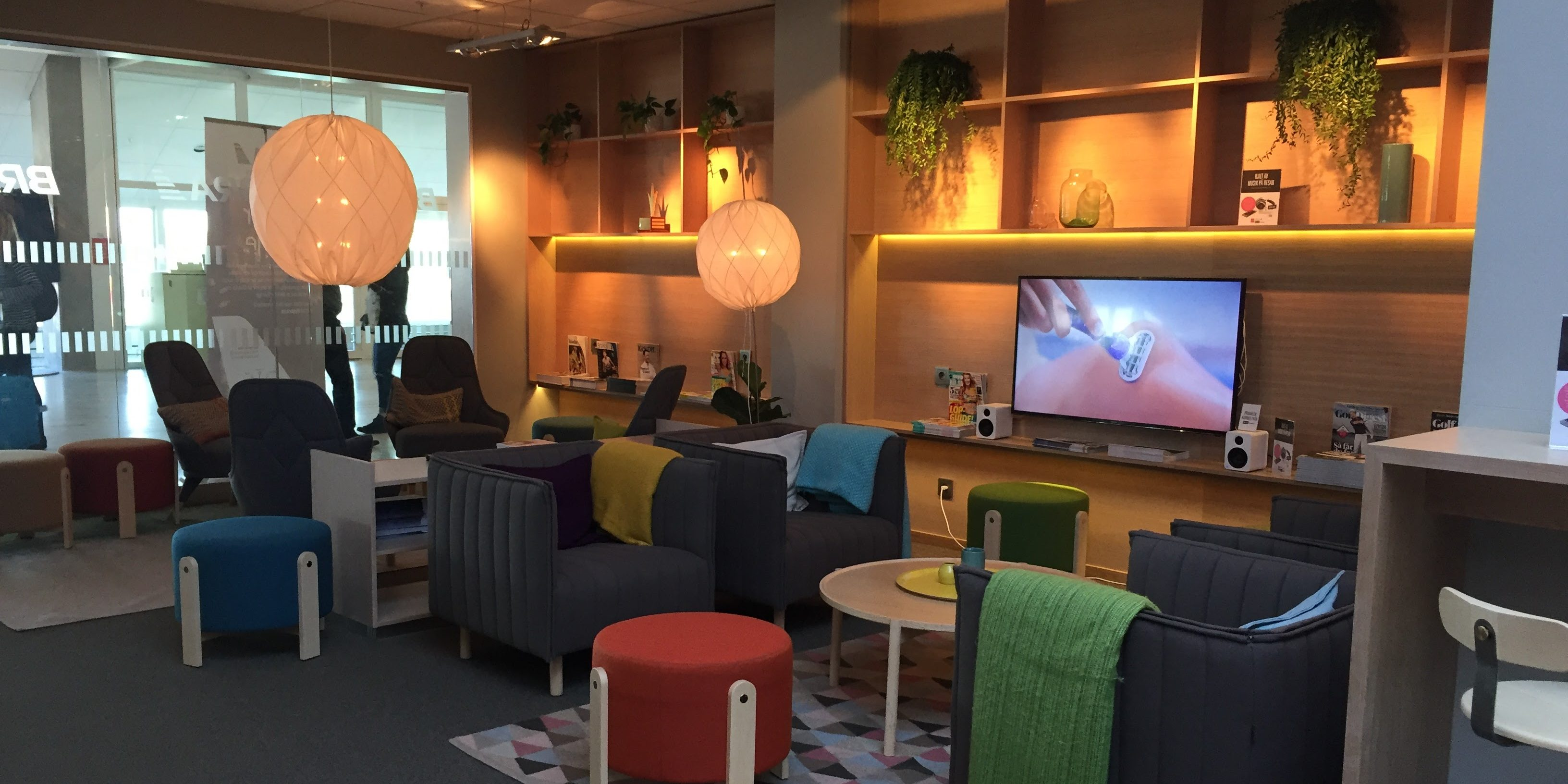 Review: Malmö Aviation + Menzies Business Lounge Gothenburg