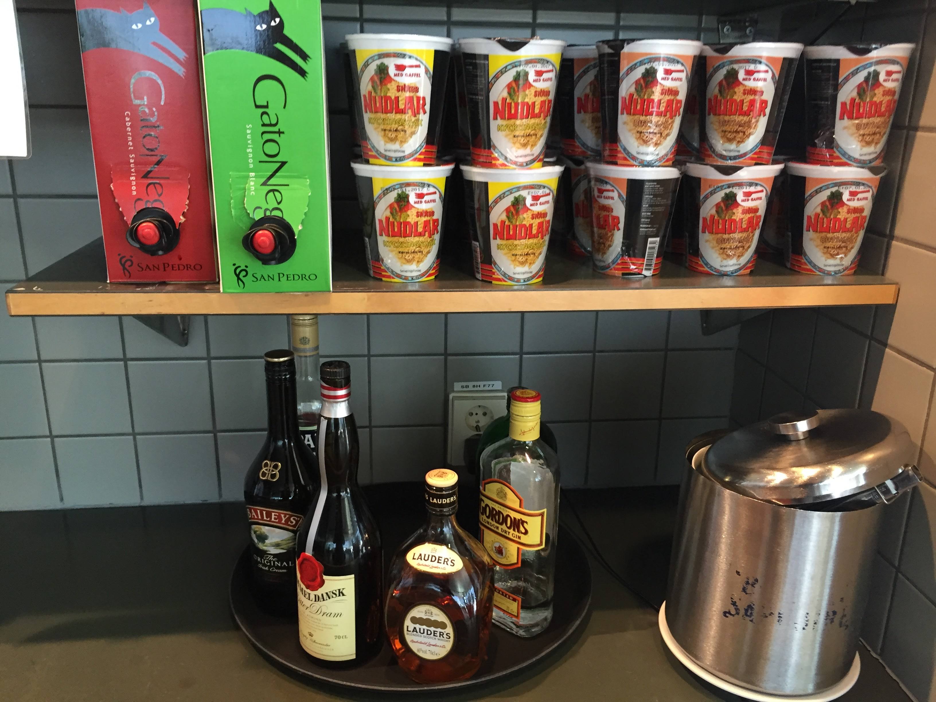 Menzies Business Lounge GOT Beverages