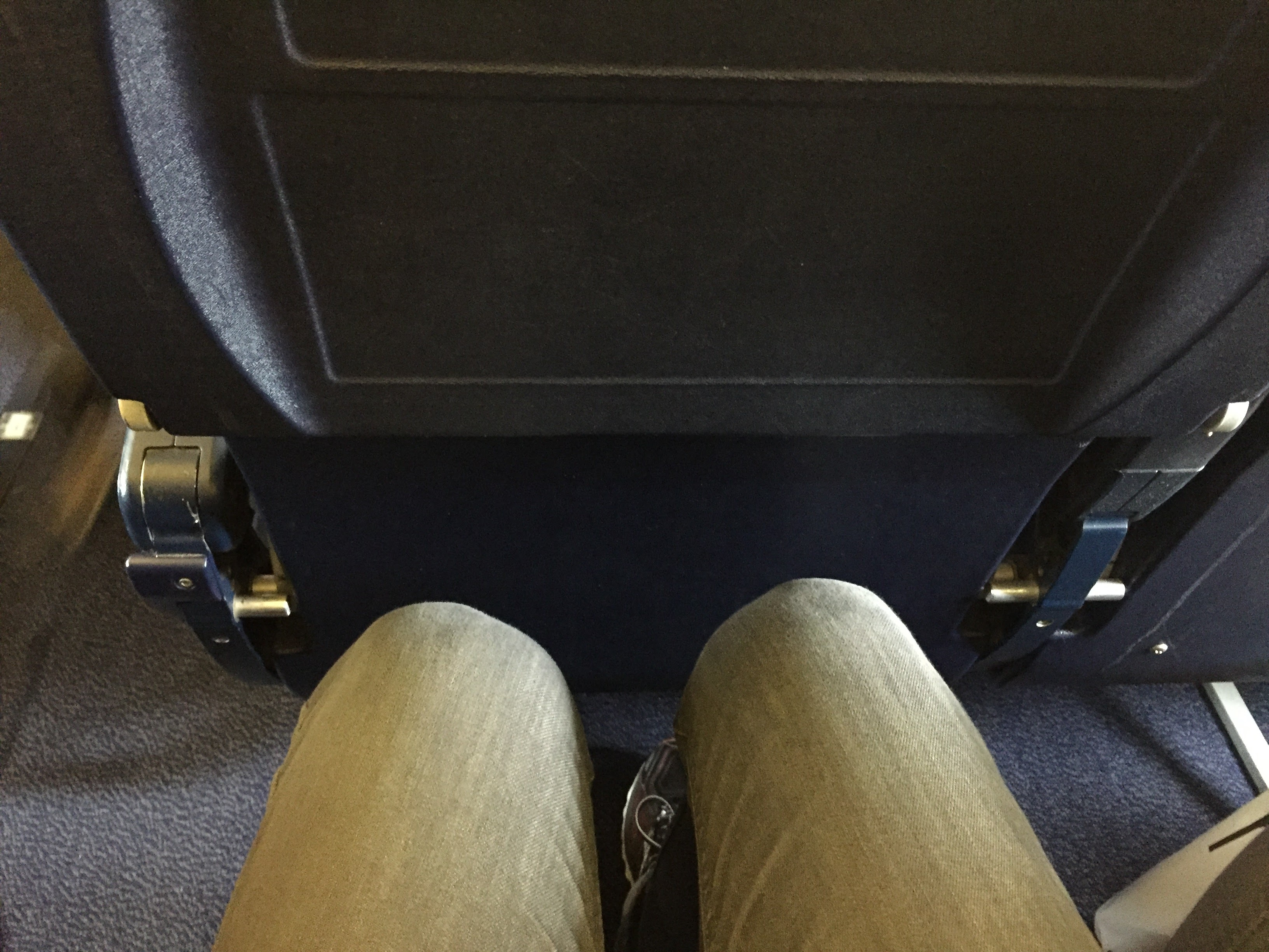 RyanAir Legroom