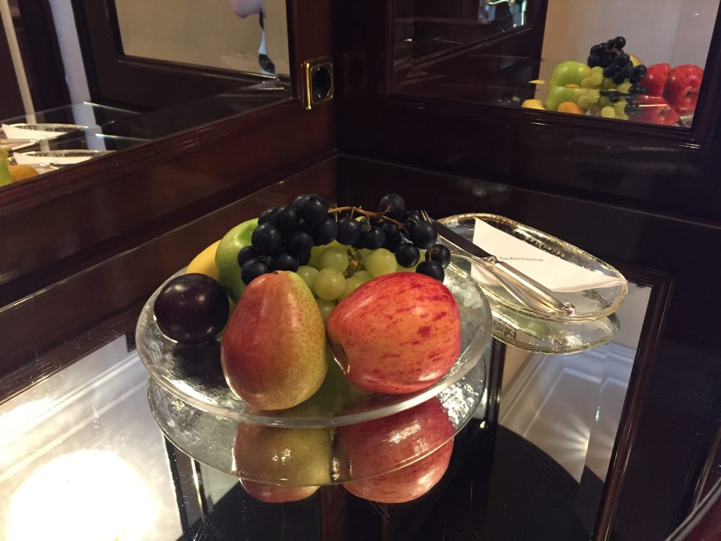 Ritz Carlton Berlin Welcome Amenity