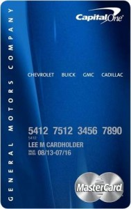car credit card