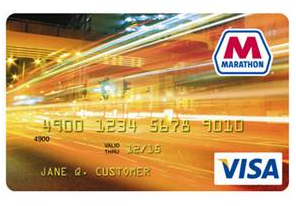marathon credit card