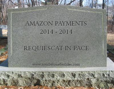 amazon payments tombstone