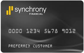 synchrony credit cards list