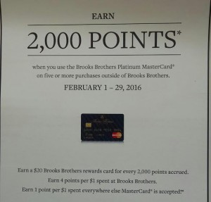 brooks brothers promotion