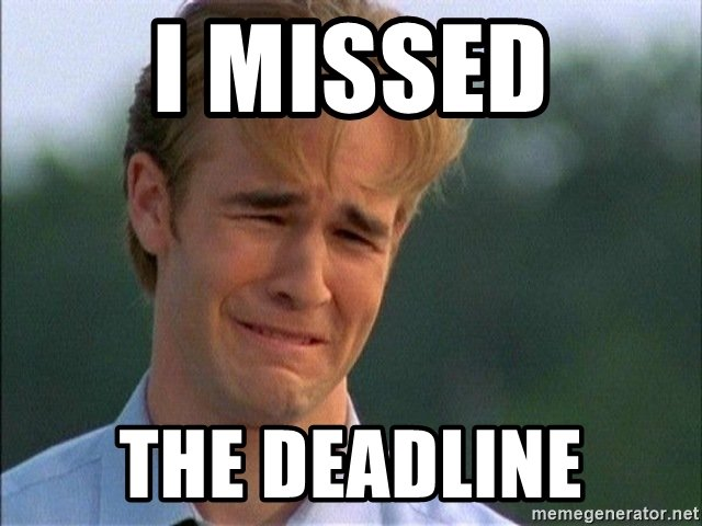 the deadline is the deadline Deadline(s) or the deadline(s) may refer to: time limit, a narrow field of time by which an objective must be accomplished contents novels and short stories edit.
