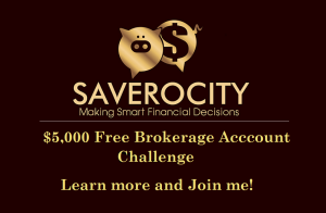 $5,000 Brokerage Account Challenge – Building a portfolio using Cash Back and some savings from household expenses