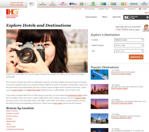IHG Browse by Location