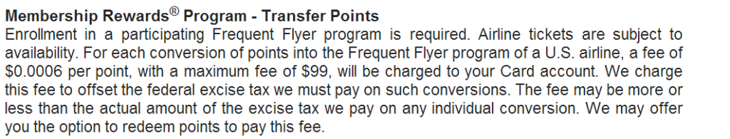 American Express Premier Rewards Gold Terms and Conditions
