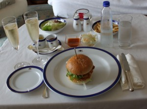 Room Service Lunch