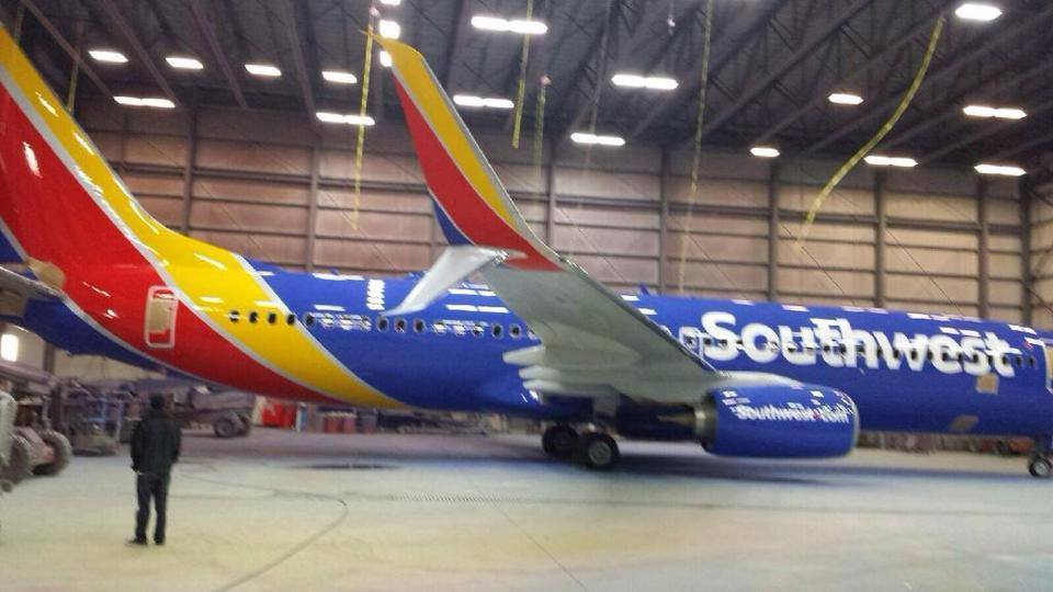 Leaked Southwest Airlines Livery
