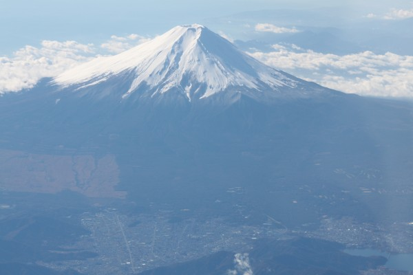 Mt Fuji's close up