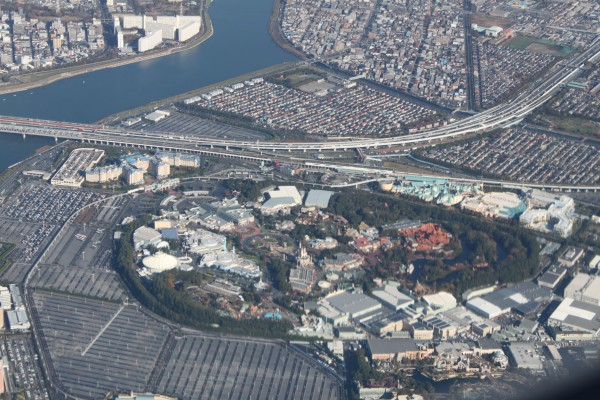 Tokyo Disney from the air.