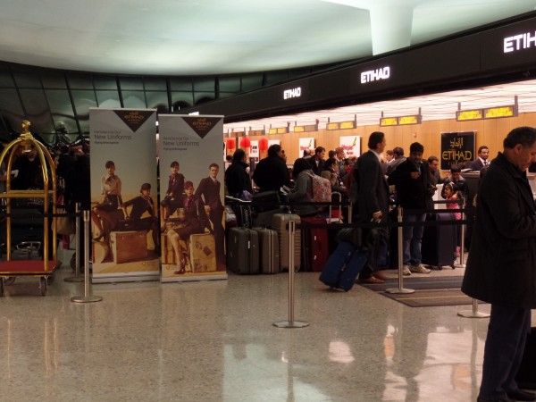 Etihad check-in