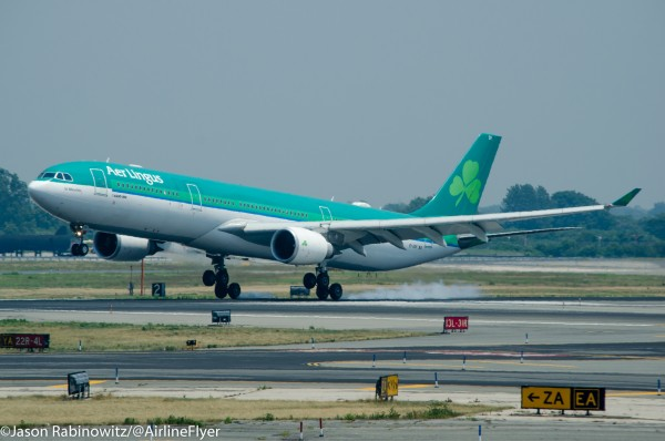 Aer Lingus Souce and a big thanks to @Airlineflyer