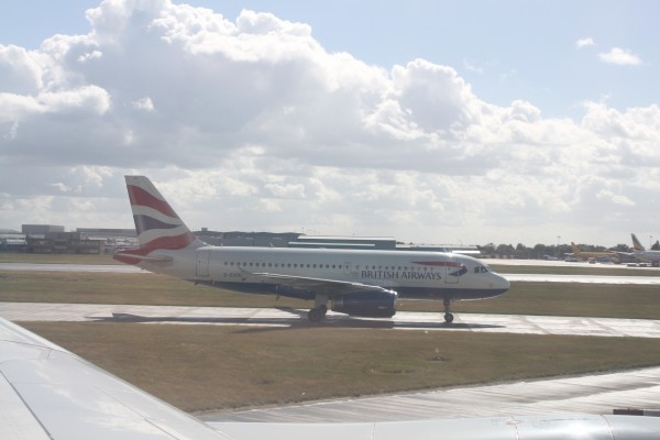 Oneworld alliance member British Airways (BA) A319