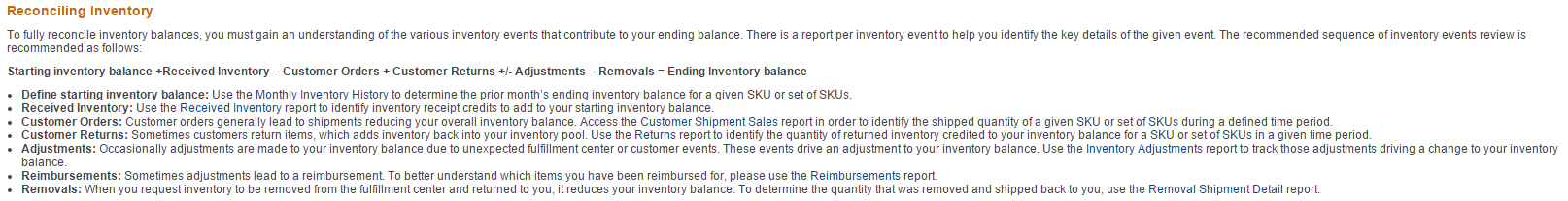 Tracking Inventory 10
