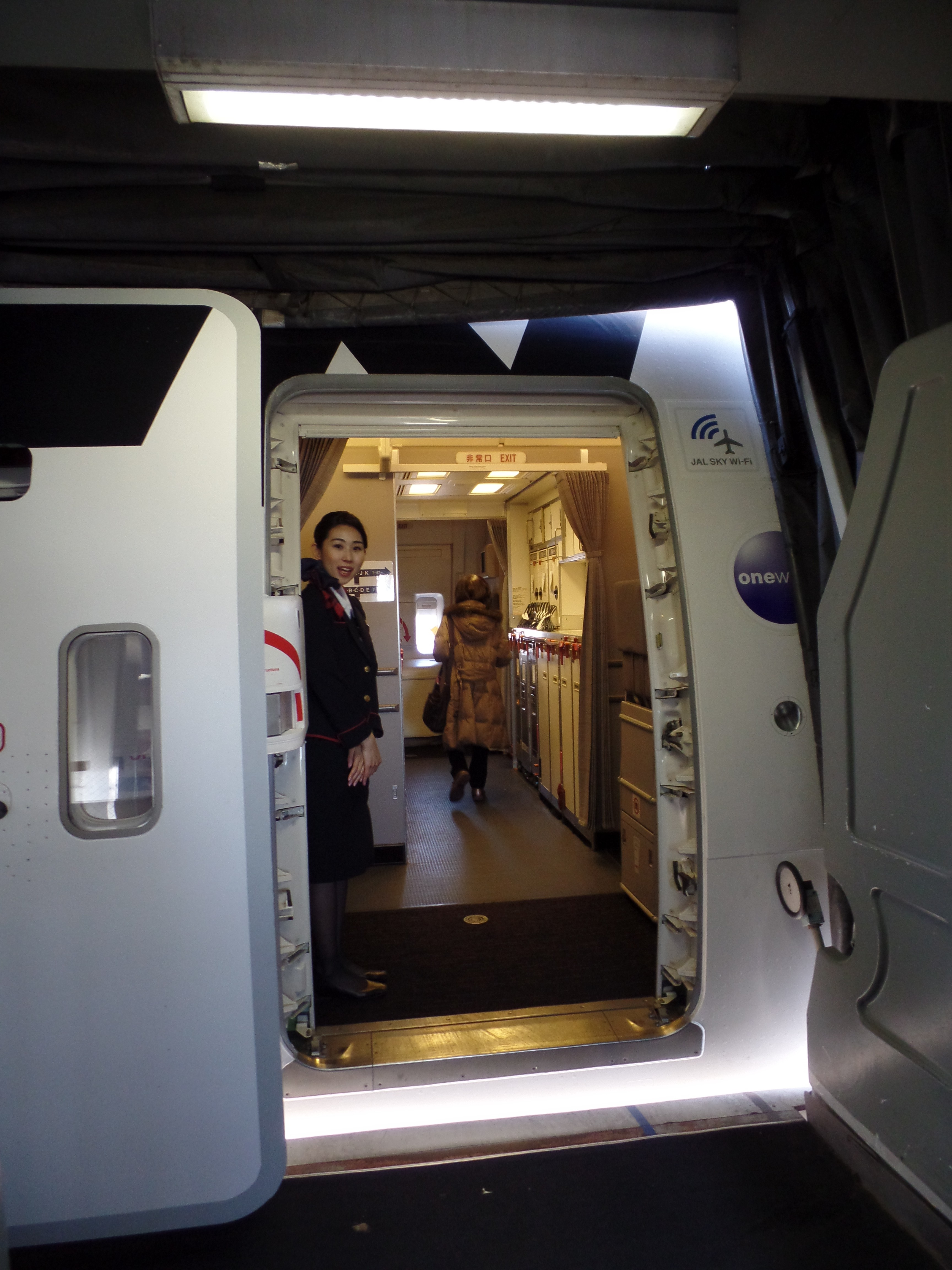 Review Japan Airlines First Class 777 300er Chicago