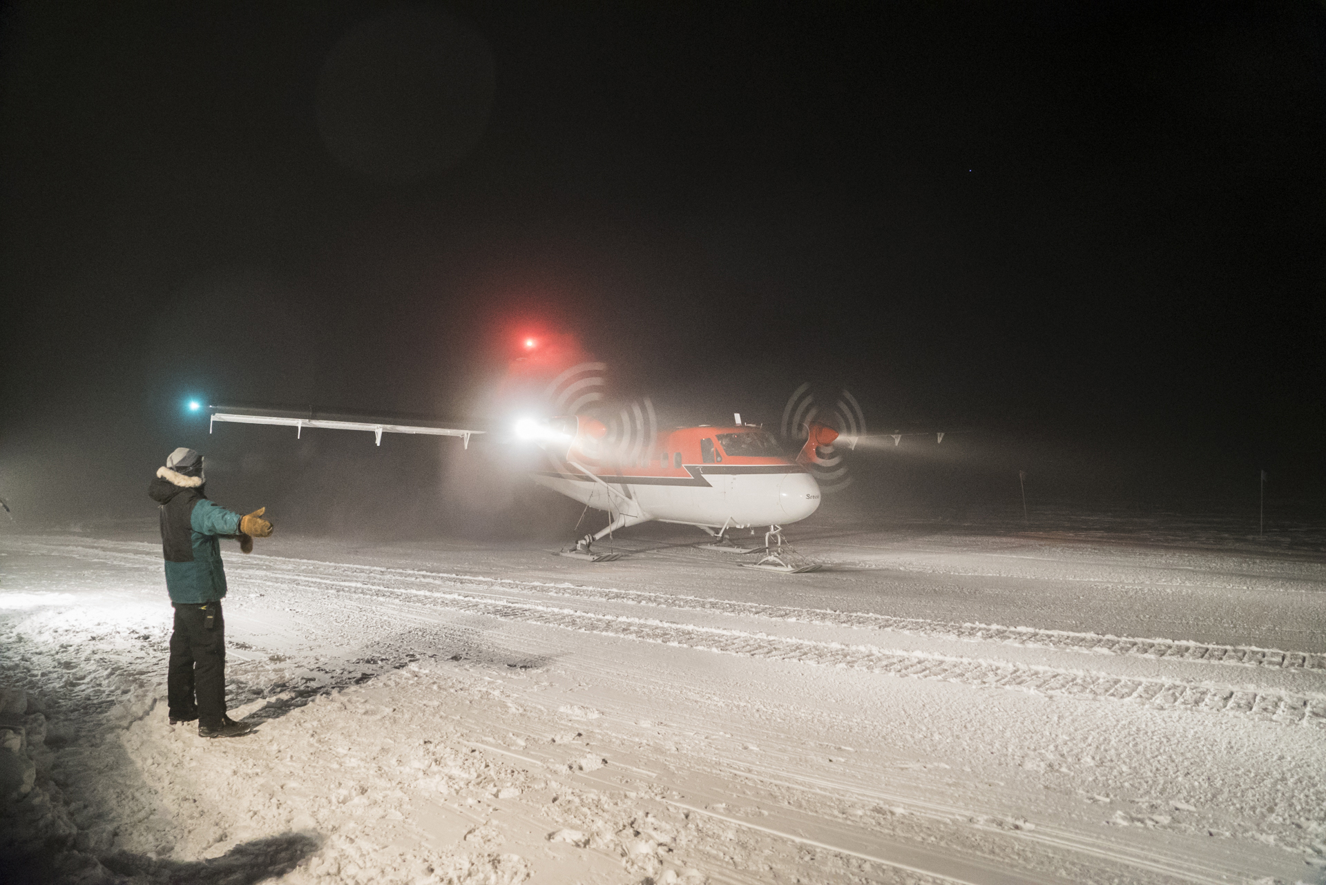 Twin Otter for Antarctic Medical Evacuation