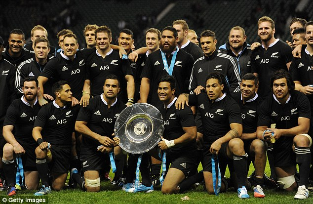 New Zealand's All Blacks Rugby Team, they clearly need a lot of protein, easy to maximize Freedom 5x with these guys!