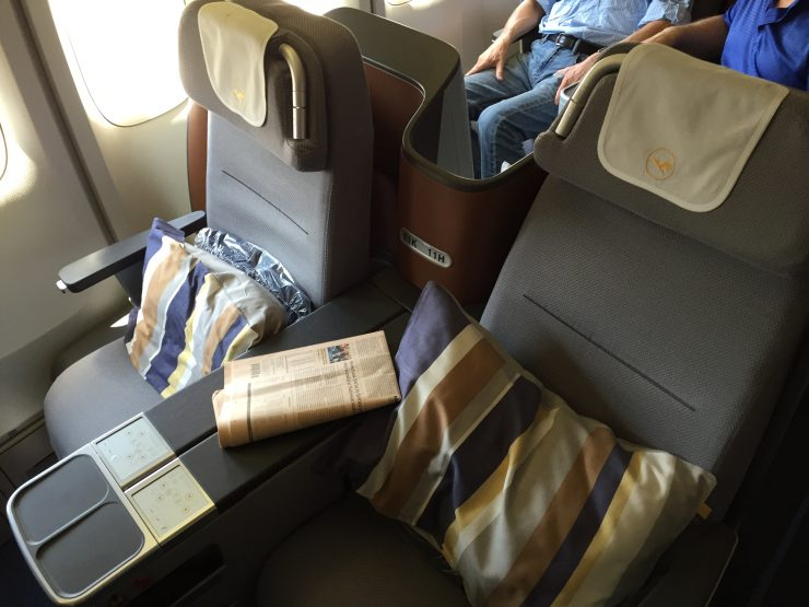 Flying the Cycle - Three Different Business Class Seats