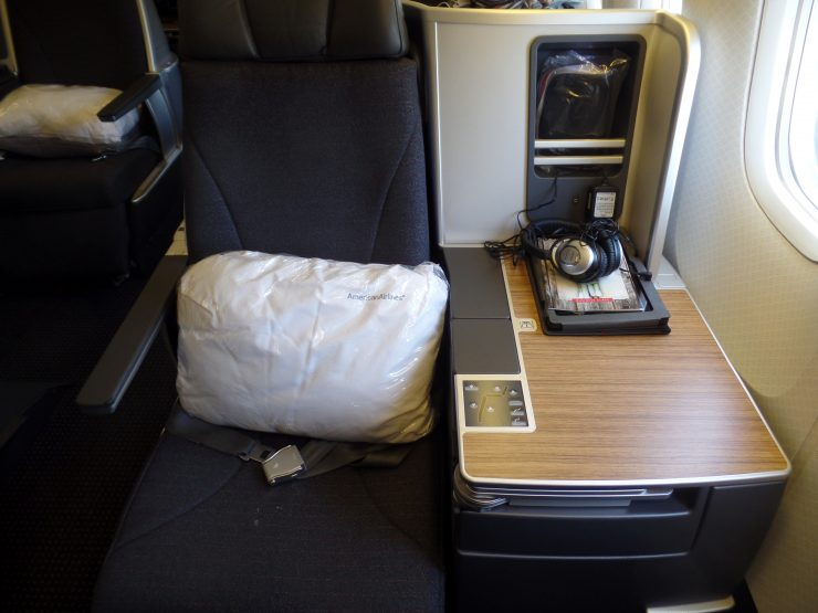 American Airlines 767 Business Class Seat