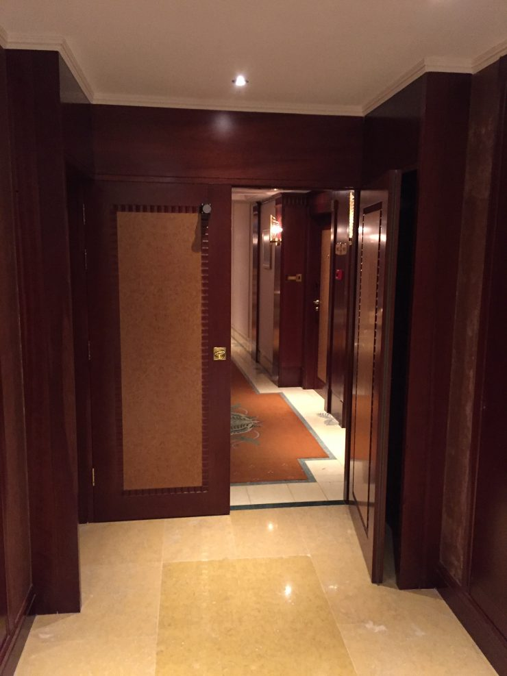 Fire doors at the Grand Hyatt Dubai
