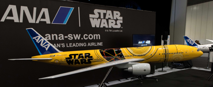 ANA Star Wars Themed Livery