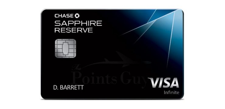 Chase Sapphire Reserve, Credit Card Applications