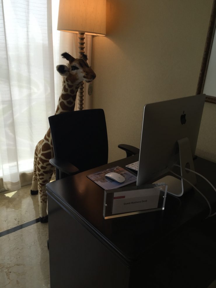 Diamonde the Giraffe, Delta SkyMiles and Lyft