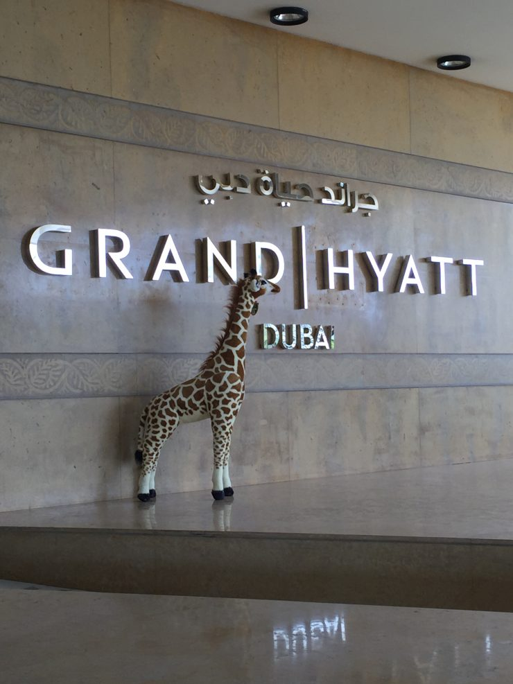 Diamonde at the Grand Hyatt Dubai, Delta SkyMiles and Lyft