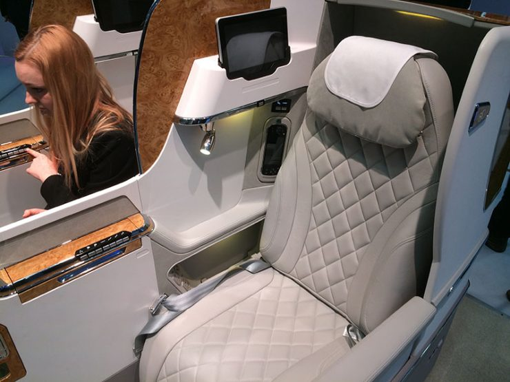 Emirates Basic Business Class