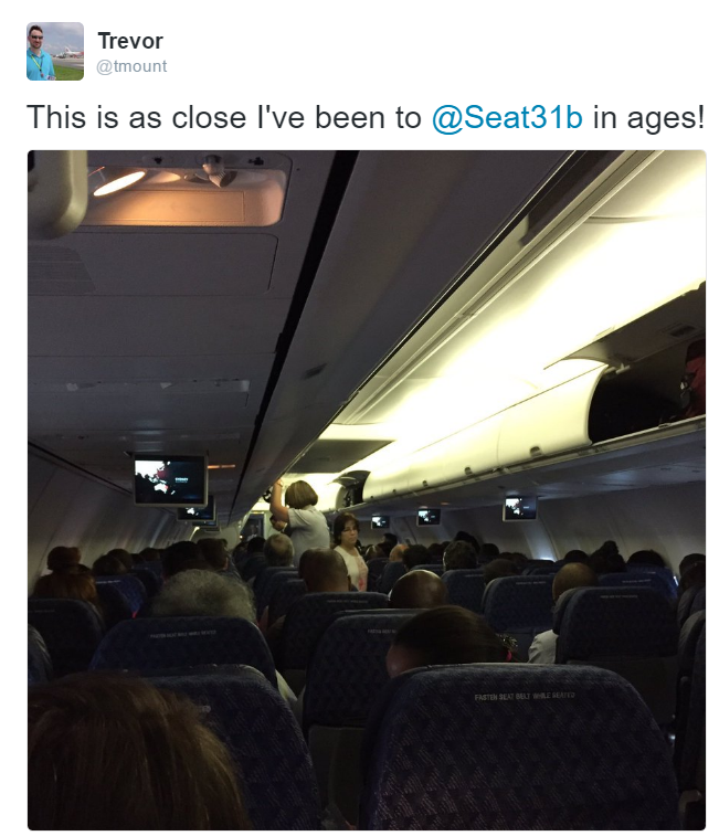 Tales from Seat 28B