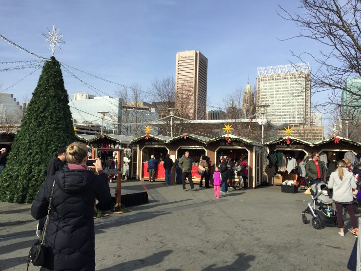 Baltimore Christmas Village, a day off locally