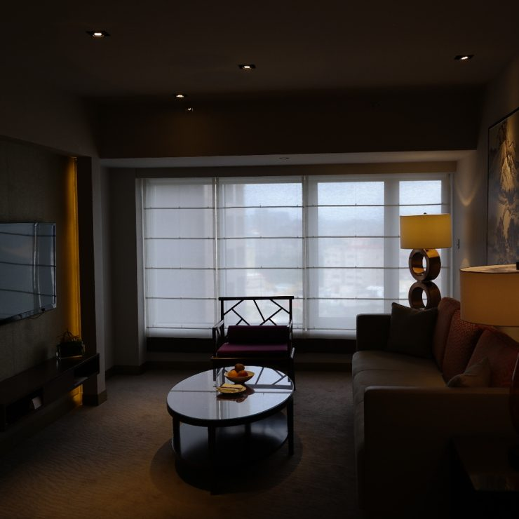 Grand Hyatt Taipei Sitting Room