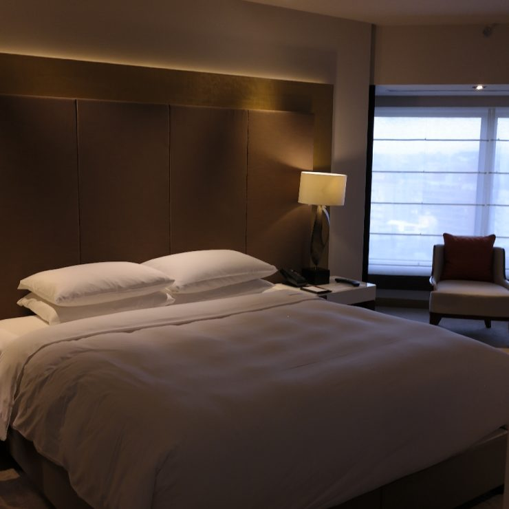Grand Hyatt Taipei Bedroom Room