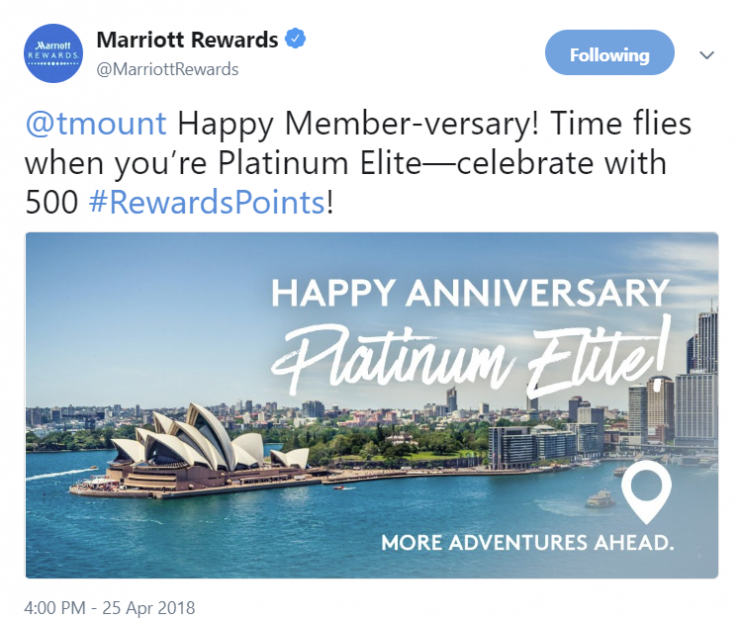 Marriott Rewards Members