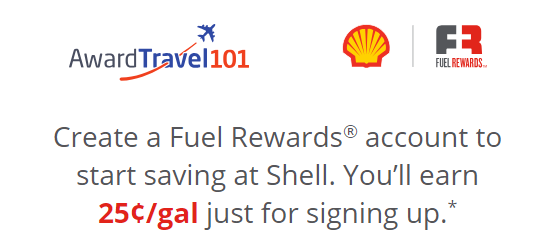 Shell Fuel Rewards, AT 101