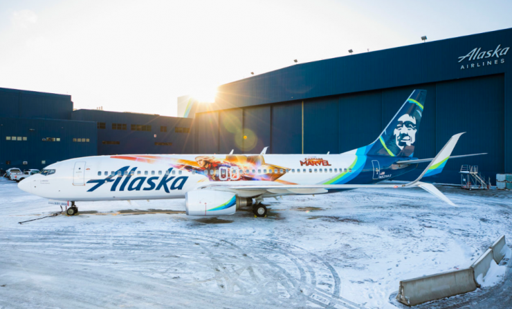 Alaska's latest Livery is Higher, Further, and Faster