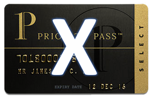 American Express Platinum, Priority Pass